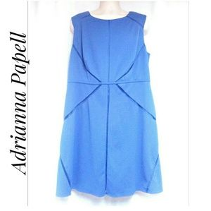 Adrianna Papell Periwinkle Blue Dress Size 20W